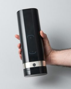 man holding the Kiiroo Onyx 2