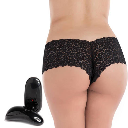 Secrets Plus Size 5 Function Remote Control Vibrating Panties