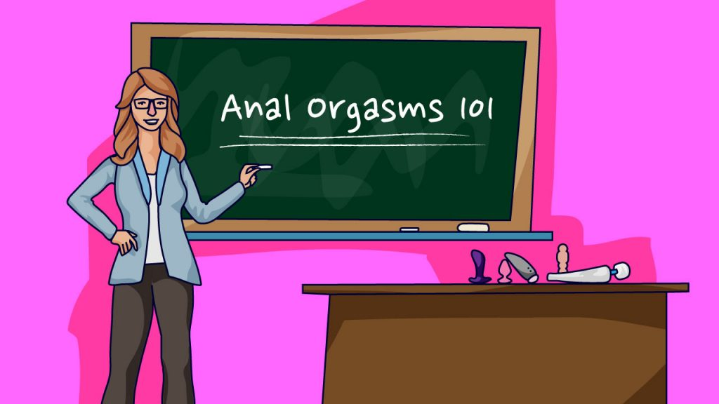 sex educator teaching about anal orgasms