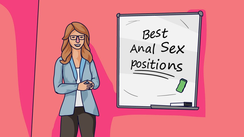 sex educator teaching about anal sex positions