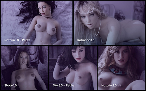 collection of sex dolls from real doll
